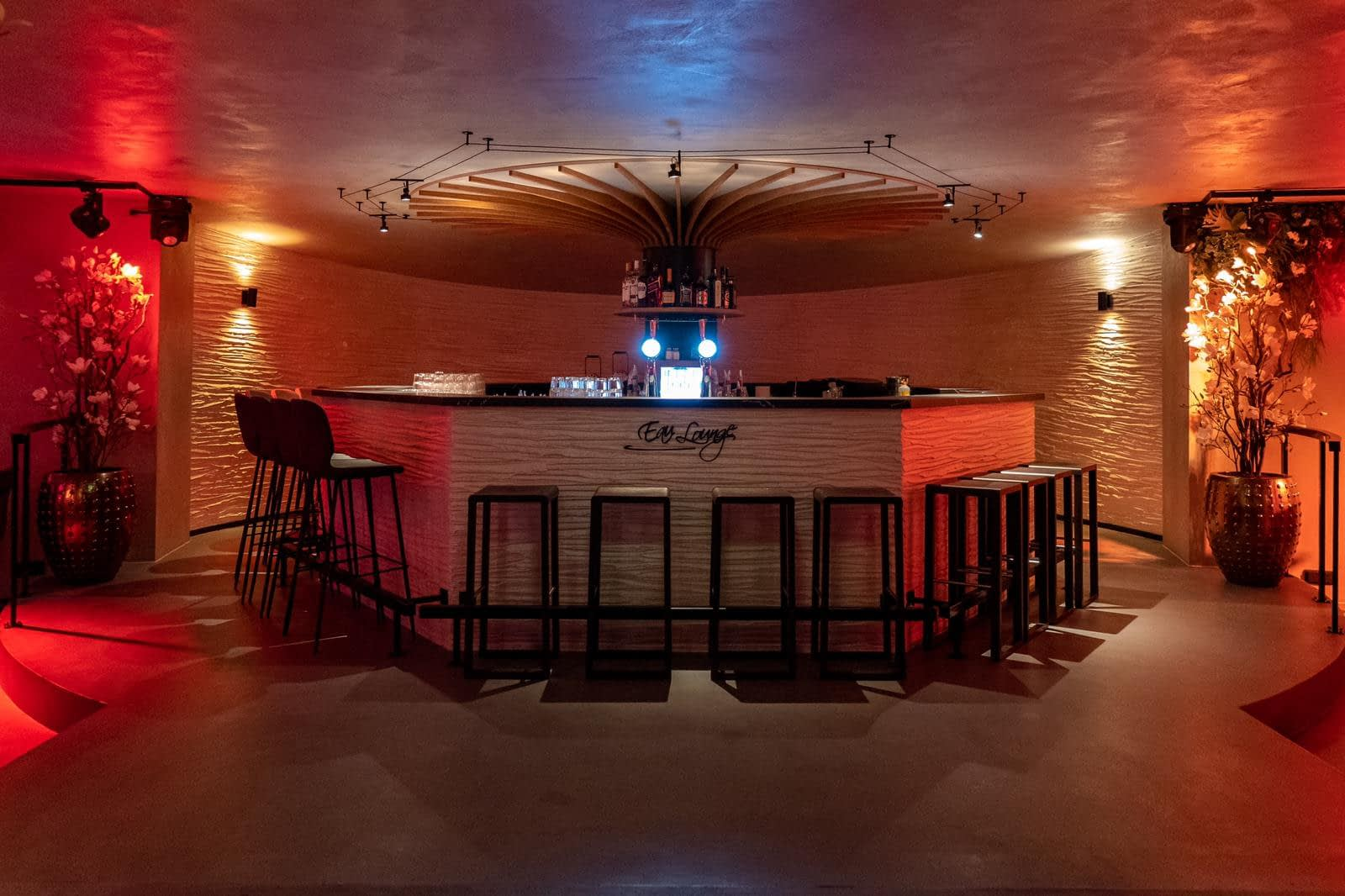 Interieur Eau Lounge Rotterdam